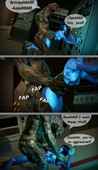 Halo sex comic by Aughterkorse - Construct Diplomacy