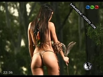 Maria Paz Delgado juicy ass in thong damageinc videos