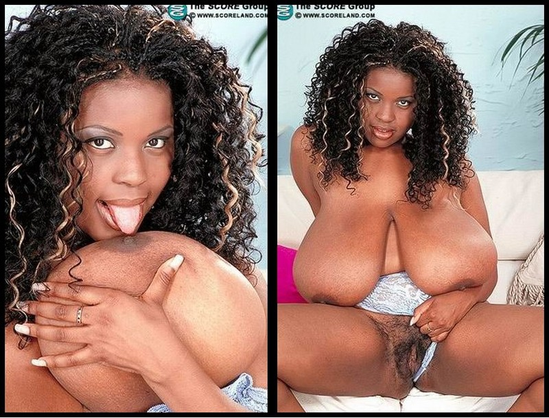Jenny Hill – Biggest Hooters Black And Stacked