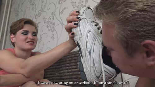 Gloria - lick my sneakers and eat my sweaty socks! Full HD