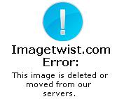 Andrea Frigerio hot milf in bikini backstage