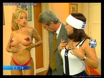 Dana Fleyser massive tits with pasties