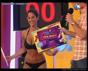 Delfina Gerez Bosco sexy hips in bikini