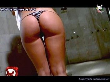 Jennifer Murray hot thong in the shower