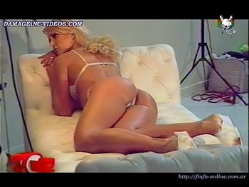 Jesica Cirio hot crotch in lingerie backstage damageinc videos