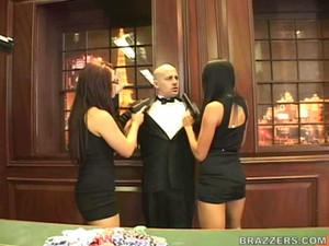Audrey Bitoni, Eva Angelina, Mikayla - Licence to fill