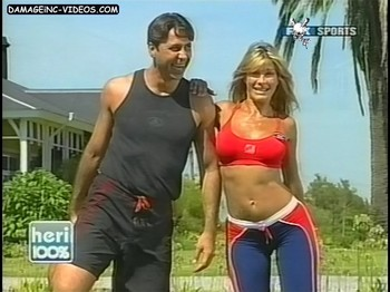 Catherine Fulop perfect body in leggings