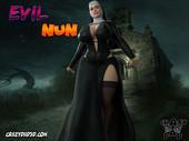 Crazydad3d - Evil Num - Sexy nun in 3d comic