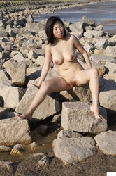 public Chinese nude