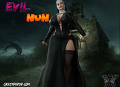 Crazy dad Evil Nun