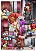Palcomix - Hermione's Punishment (Harry Potter)