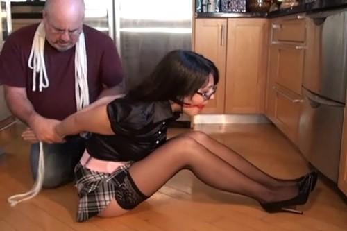 Sophia Elly - Suprised by the burglar