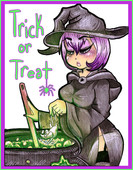 Sexy witch in Trick or Treat by Drellen Ongoing