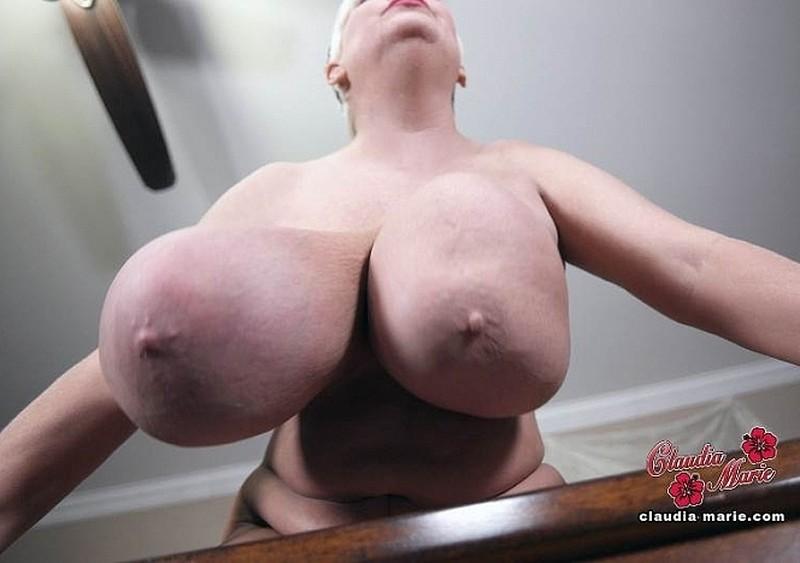 Claudia Marie - Big Bouncing Tits