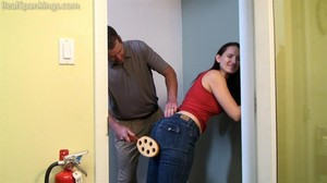 Jessy: Paddled In The Hallway - image4