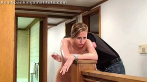 Alyssa: Wet Bottom Spanking - image4
