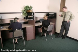 Roxie And Lauren: Slacking At Their Off Campus Jobs (part 1 Of 2) - image6