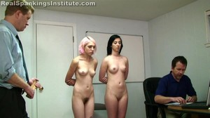 Roxie And Autumn Spanked By Danny (part 4 Of 4) - image1