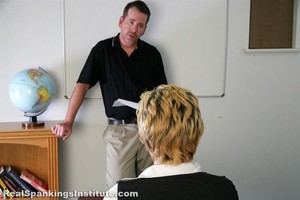 Bobbie: Spanked By The Dean (part 1 Of 2) - image5