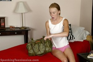 Jessica Is Strapped Hard For Snooping - image4