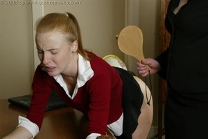 Jessica Spanked To Tears - image1