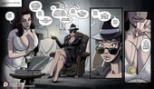 Bdsm comic by SleepyGimp - Nancy Templeton - Mystery of the Vanished Heiress + Textless version + French version