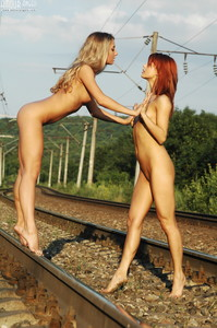 Sofia and Sabrina - Railway  q6r8ggsruv.jpg