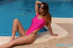 Jennifer Ann - Jennifer teasing around the pool f6r9r3qsxf.jpg
